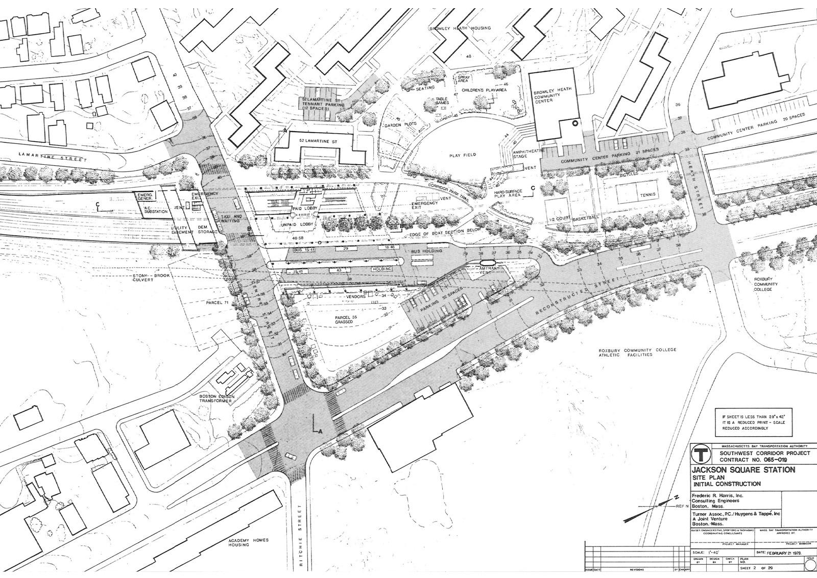 Jackson Square Site Plan