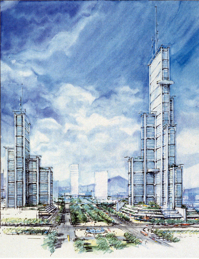 Guangzhou Urban Plan, China, 1993